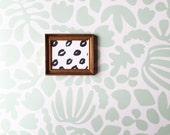 Removable Wallpaper // Muse in Mint // Perfect for renters and DIY crafters // Fully removable