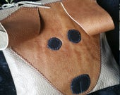 Dog Wristlet  Leather