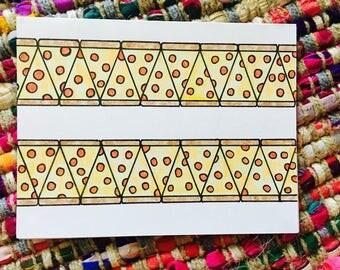 Pizza Card (blank)