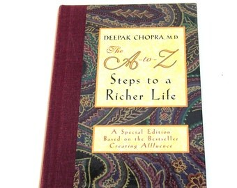 Deepak Chopra, The A to Z Steps to a Richer Life, Vintage Book