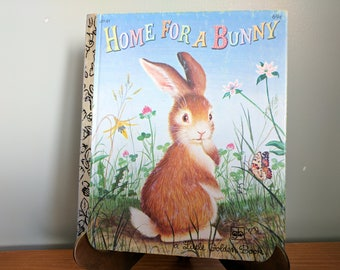 Home For a Bunny, Little Golden Book, 1980, By Margaret Wise Brown