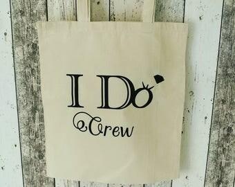 I do crew tote bag