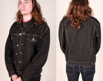 Vintage Guess Dark Denim Jacket