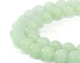 "You Pick Top Quality Natural New Jade Serpentine Gemstone 4mm 6mm 8mm 10mm Round Loose Beads 15.5"" #GF11"