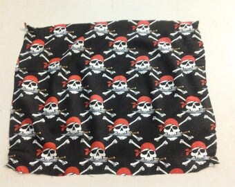 Skulls with knives fabric 247863