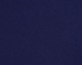 100% Wool Felt 20cm x 30cm 1mm thick - DF55 Navy