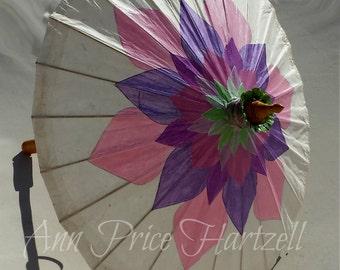 Parasol Pink Purple Parasol Lotus