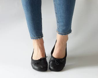 Authentic Chloé flats | Black leather ballerinas | size 39 1/2