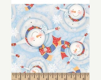Gorgeous XMas Snowman Fabric--from Movie FROZEN--Hard Find--- So Cute--20-70% off listings throughout our Shop