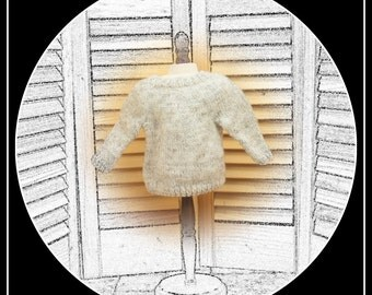 Sweater for BOY doll (or girl!) 18 inch dolls - American Girl, Magic Attic, Our Generation, etc
