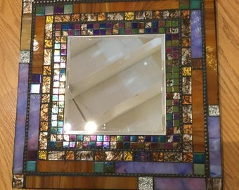 Mosaic MIRROR, Wall Art, Multicolored