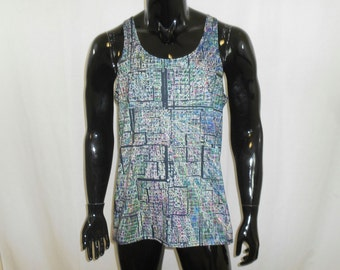 Men's Tank Top - Psychedelic Mind (All-Over Print)