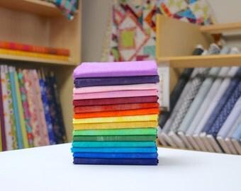 Grunge Basics - Half Yard Bundle by Basic Grey 15 Fabrics - Great Stash Builder!