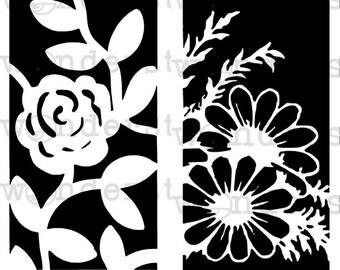 MiniMoley Stencil Set - Flowery