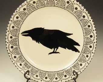 Raven Platter-Made to Order