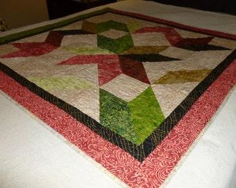 Batik Patchwork Quilt