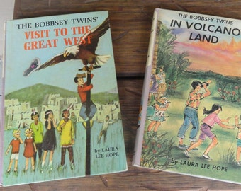 Vacation Stories BOBBSEY Twins Volcano Land Visit to Great West 1960s
