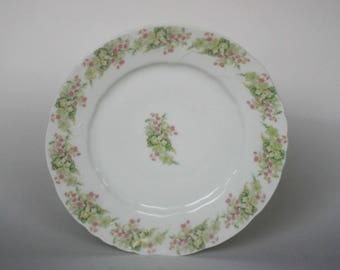 vintage elite works luncheon plates limoges france set of two