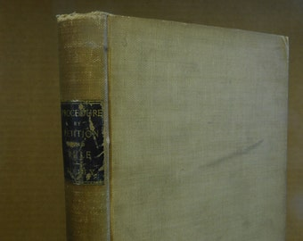 Antique Book on the Law Petition and Rule Motions and Procedure Pennsylvania Legal Information Legal Procedures 1904 History of the Law