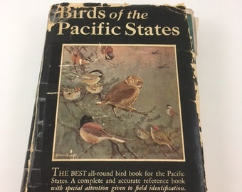 Vintage Birds Of The Pacific States Book 1927