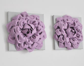 Light Lavender Flowers, Purple Flowers, Purple And Gray, Lilac Wall Decor,  Purple