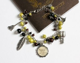 Charm Bracelet (Yellow Badger House)