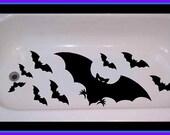 Bats Non Skid Bathtub Decal