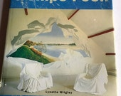 1997 Trompe L'oeil hardcover vintage book on painting murals and decorative wall painting