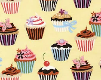 Robert Kaufman Sweet Tooth Fabric 1 Yard (More available)