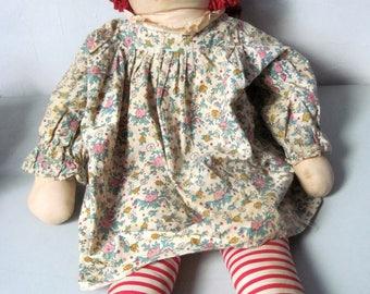 Vintage Large Raggedy Ann Doll