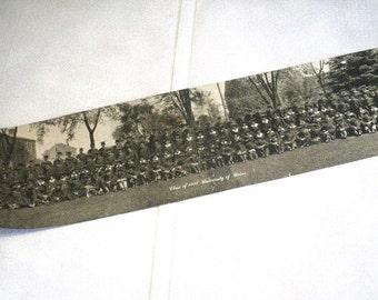 "University of Maine Class of 1925 Panoramic Group Photo Orono ""Yard Long"" Smith Photo Co. Bangor"