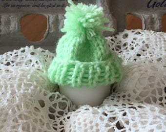 Egg Cozy Knit Hat , Egg Cover , Decorating Eggs, Easter Party Favor,  Easter egg Cozies
