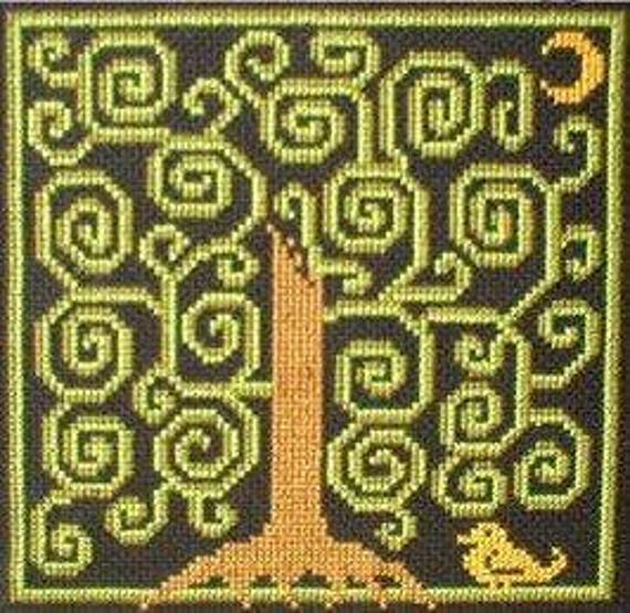 PDF E pattern emailed Tree of Life Wiccan Witch Wicca Cross