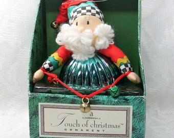 Santa Clause Ornament, Christmas Decor, Christmas Holiday Ornament, Santa Tree Ornament