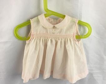Vintage Pink Baby Girl Dress