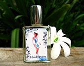 HAWAIIAN PERFUME. An Exotic White Floral with Gardenia, Tiare Flowers and Night-Blooming Jasmine. Gift from Hawaii. 1/2 fl oz (15 ml).