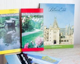 Vintage Biltmore Estate Book, Blue Ridge Parkway Travel Guides,