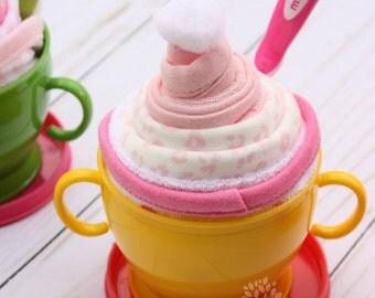 Baby sundae / Baby shower gift idea / Baby girl / gift for baby girl / baby essentials
