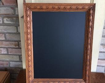 Vintage Shabby Chic Framed Chalkboard