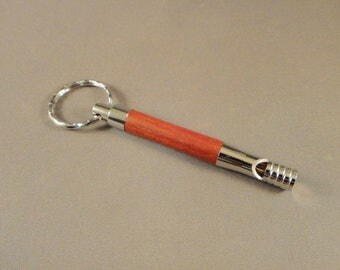 Keychain - Security Whistle - Redheart Wood