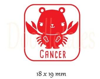 Horoscope Cancer 2 (Rubber Stamp)