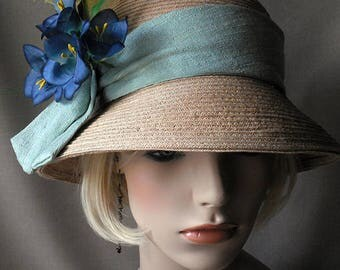Straw Cloque Hat