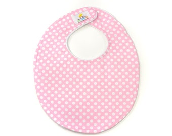 Pink Dot Boutique Bib - New Baby Gift, Personalized Baby Gift, New Baby Girl