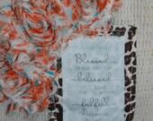 Khaki Sweater Scripture Scarf