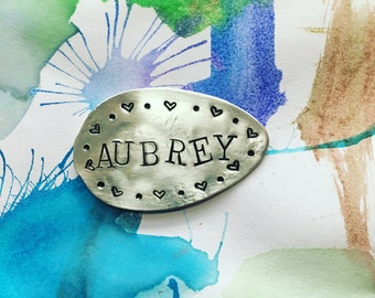 Personalized Name Spoon Magnet