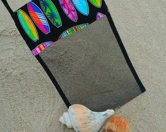 NEW Shell Collecting Bag Shell Tote Adult or Child Surf Boards