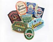 8 Beer Labels, International & US