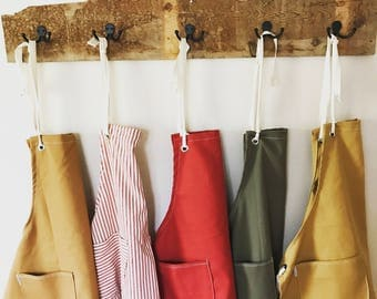 NEW SALE Canvas Utility Apron made to order allow 7 to 10 business days