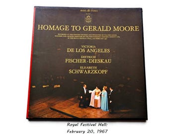 Homage To Gerald Moore/ Classic Vinyl Boxed Recording 2 Disk Set/Royal Albert Hall/ 1967