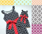 Mothers Day Gift - Mommy and Me Dresses - Mommy and Me Outfits - Mother Daughter Dresses - Matching Dresses - Baby Shower Gift
